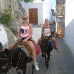 donkey ride to the acropolis