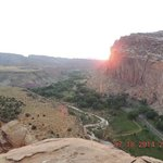 Top of a mountain at Capitol Reef National Park