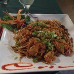 Phase Thai with chicken