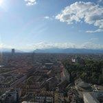 """Panorama dalla Terrazza detta anche """"Tempietto"""""""