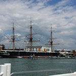 HMS Warrior for Harbour Tour boat