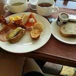 Breakfast at the Executive lounge