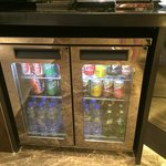 Continental Lounge Refrigerator - Complimentary Drinks