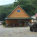 The camp store where you check in