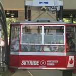 "Gondola ""sky ride"" about to ascend."