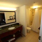 Spacious Suite Bathroom