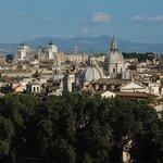 Rome's center