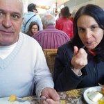 Almoço em família em restaurante familiar, tudo de bom e do melhor.