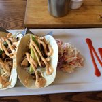 Great fish tacos!