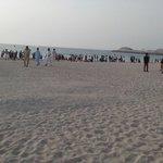 The public beach Jumeirah near the Hotel