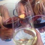 Vino vino! Mucho vino!
