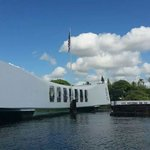 Arriving by boat to the memorial