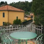 Private little balcony