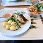Lunch menu of the day at Vasamuseet Restaurang