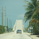Card Sound Road heading south into the keys