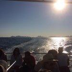 Vistas desde el barco