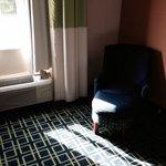 Bright carpet