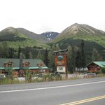 Summit Lake Lodge from across highway