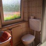バス、洗面器とトイレ