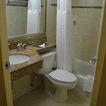 Business Class Bathroom