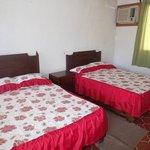 Habitación doble, ideal para familias