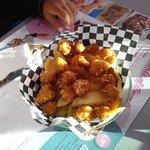 Les Pop's de poulet du menu enfant... un Regal!