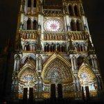Ilumintions de la Cathedrale d'Amiens