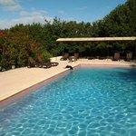 un matin à la piscine