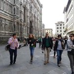 Paseo junto al Duomo