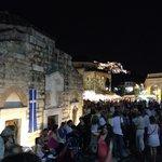 Monastiraki square. Left the Pantanasa church.