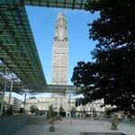 La tour Perret et la verriere de la Gare d'Amiens