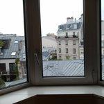 Vista finestra camera