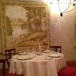 una delle sale del ristorante