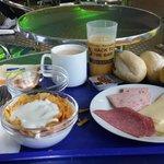 la stupenda colazione