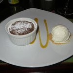 Molten Chocolate lava dessert