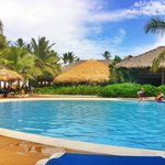 Pool side Occidental Grand Punta Cana