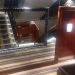 Staircase/mirror