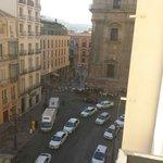 Vista desde balcón de mi habitación en la quinta planta
