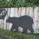 The entrance bear