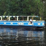 Boat Ride from Port Orleans Resorts to Downtown Disney