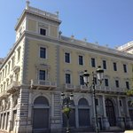 Melas building. It was the headquarters of the Greek post service today is an expansion of the n