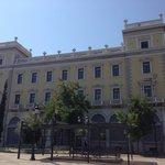 Melas historical building in Kotzia square.