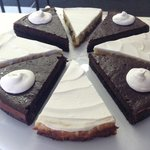 Chocolate Lovers' Mousse Pie and Creamy Lemon Pie