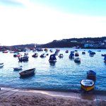 St ives harbour, 3 mins away from St Margaret's