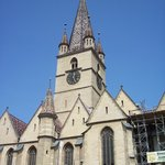 Medieval city of Sibiu Foto