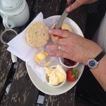 Afternoon tea (sorry my mothers hands got in the way!!)