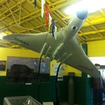 Vulcan bomber in the Squadrons area