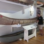 Great exhibit on canoes, skiffs, & sailboats
