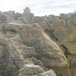 Unique limestone formations