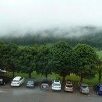 Vista sul parcheggio